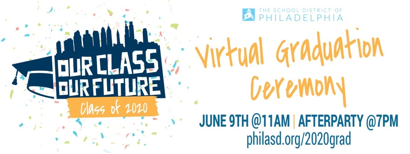 KIMMEL CULTURAL CAMPUS CO-PRODUCES VIRTUAL GRADUATION AFTER-PARTY FOR SCHOOL DISTRICT OF PHILADELPHIA'S CLASS OF 2020