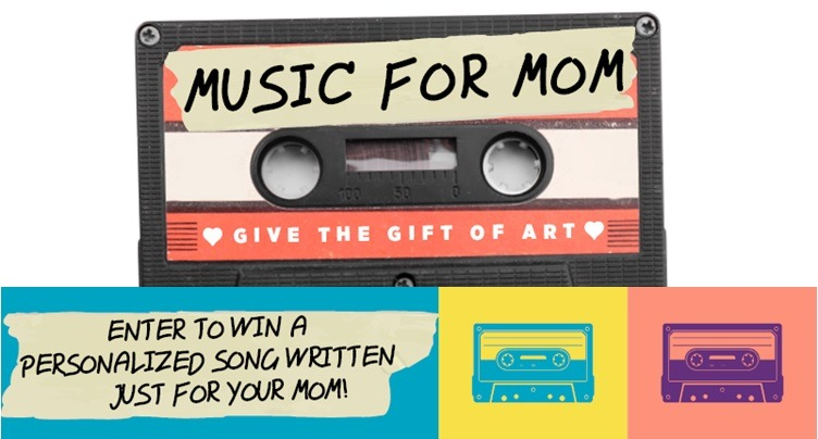 Enter your mom to be written into a song! Give the gift of art for Mother's Day- FREE!