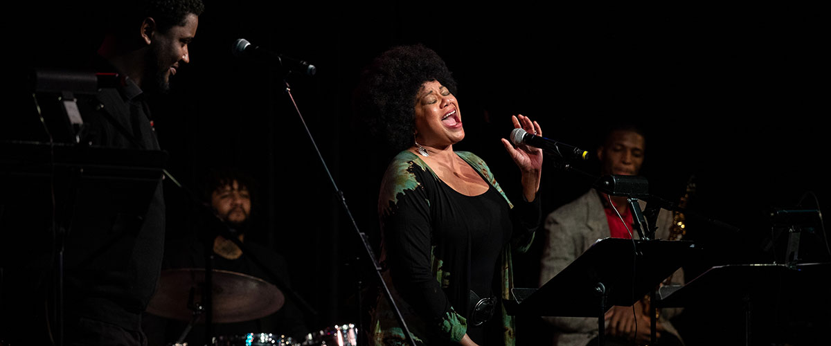 Production photo from Jazz Residency Kick Off - Ruth Naomi Floyd