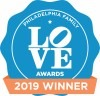 Philadelphia Family LOVE awards badge 2019