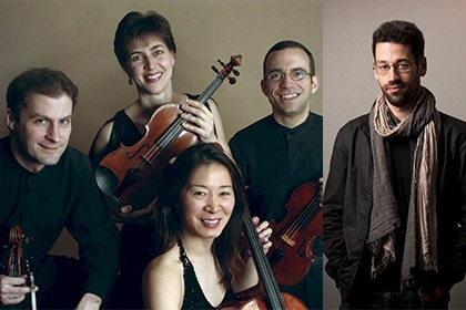 Brentano Quartet with Jonathan Biss