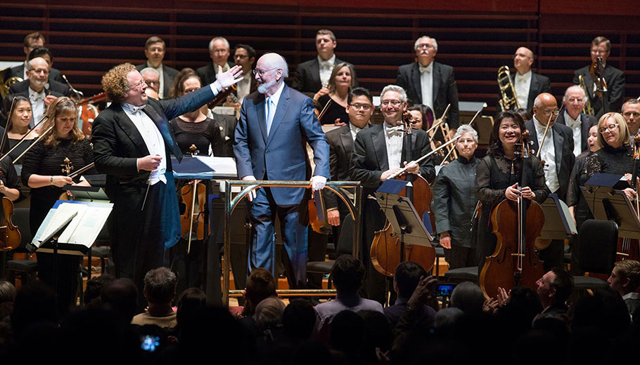 Stéphane Denève, John Williams, and The Philadelphia Orchestra