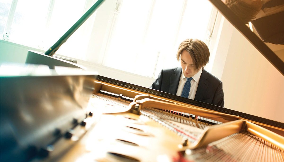 Daniil Trifonov with piano