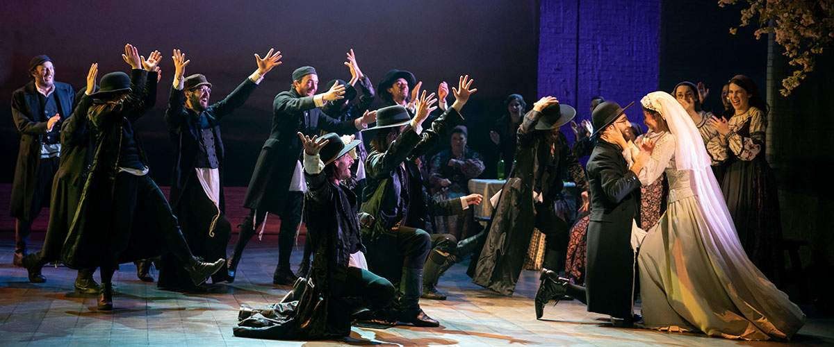 Production Photo from Fiddler on the Roof © Joan Marcus