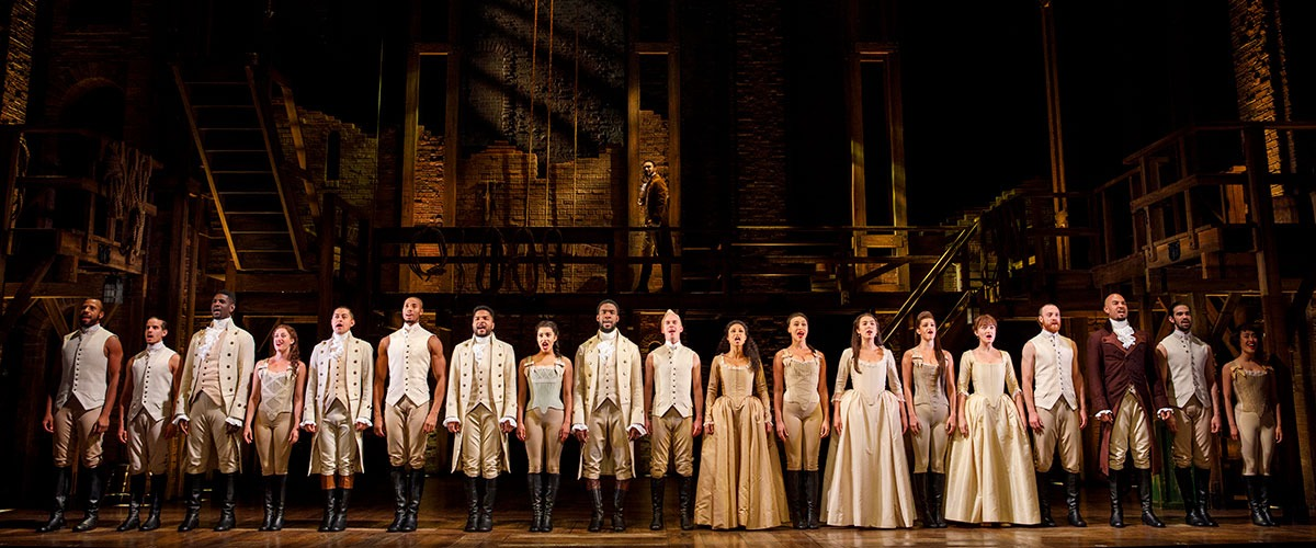 Company - HAMILTON National Tour - © Joan Marcus
