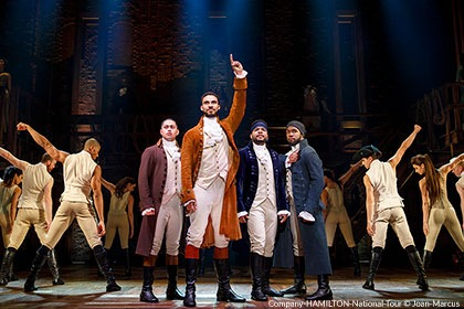 Hamilton Tickets Philadelphia - Kimmel Center Broadway Series