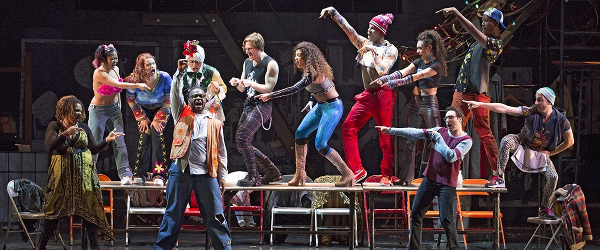 The Company of the RENT 20th Anniversary Tour - RENT 20th Anniversary Tour, Credit Carol Rosegg © 2017