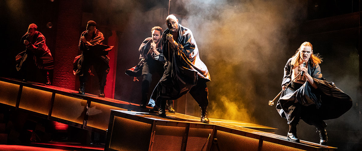 Alvin Crawford, Tyce Green and the company of the North American Tour of  JESUS CHRIST SUPERSTAR © Photo by Matthew Murphy