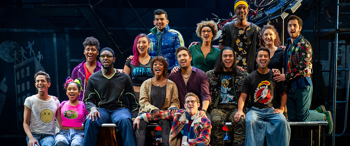 The Company of the RENT 20th Anniversary Tour - RENT 20th Anniversary Tour, Credit Amy Boyle 2019 ©