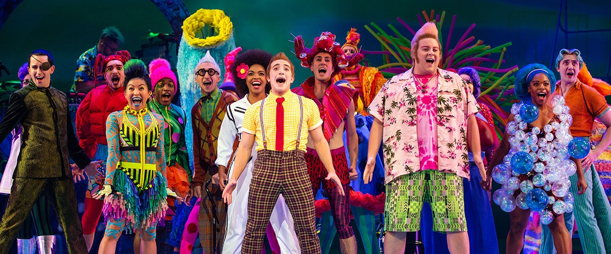 The Company of The SpongeBob Musical - Photo by Jeremy Daniel ©