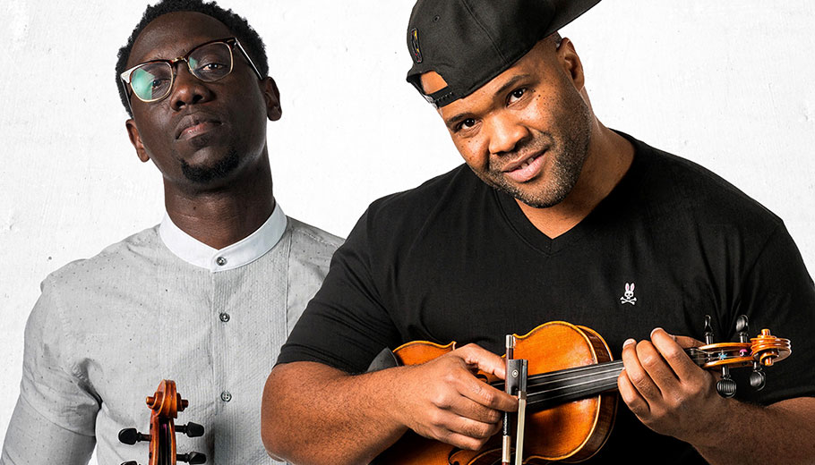 Wil Baptiste and Kev Marcus of Black Violin pictured