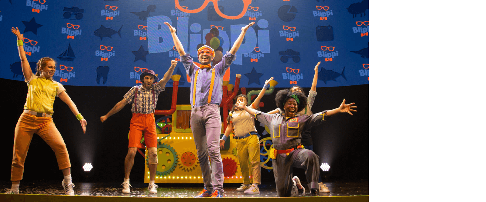 Blippi the Musical Production Photo