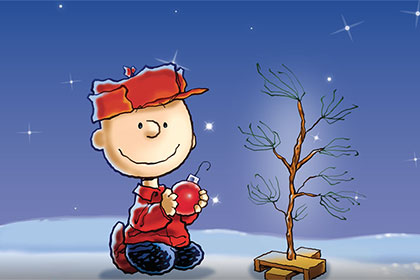 Charlie Brown Christmas Mobile