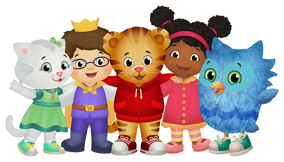Daniel Tiger and friends pictured