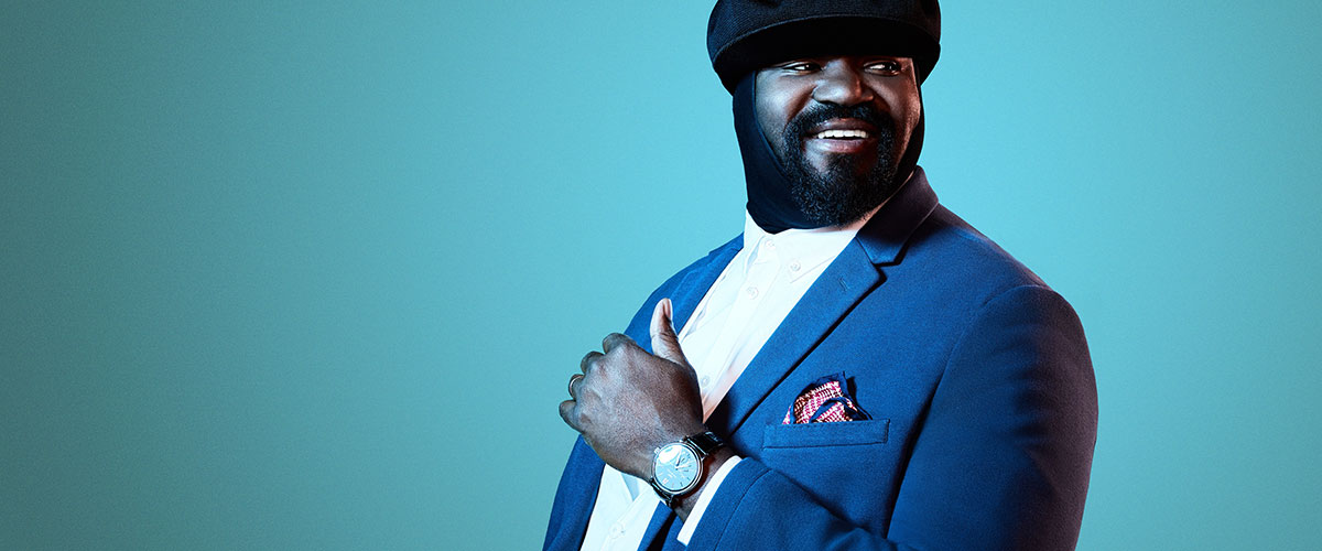 Gregory Porter pictured
