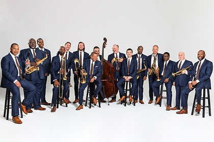 Jazz At Lincoln Center Orchestra with Wynton Marsalis Pictured