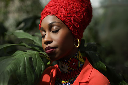 Jazzmeia Horn pictured