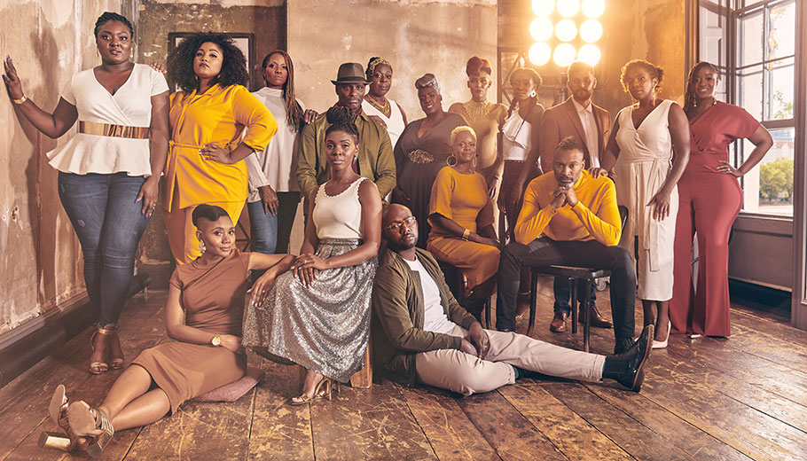 The Kingdom Choir Pictured