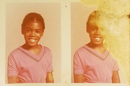 MB as a Young Girl