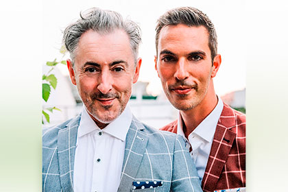 Alan Cumming and Ari Shapiro pictured