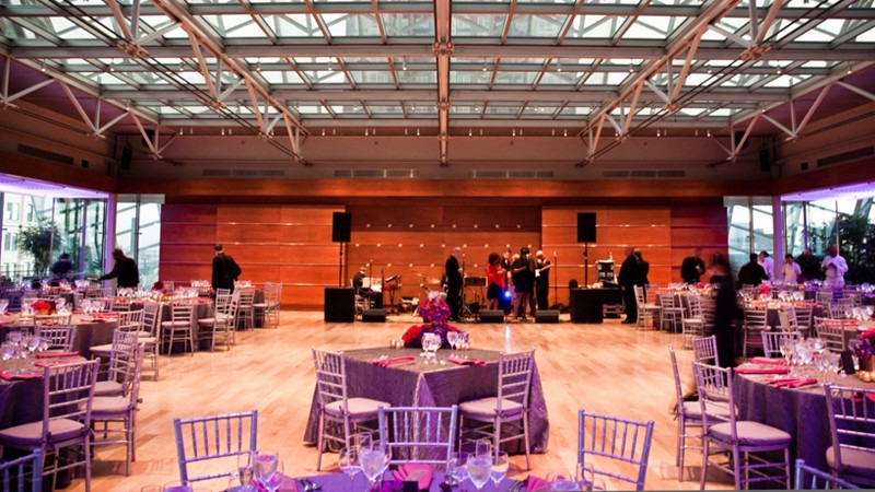 At The Top Of Kimmel Center Your Guests Enjoy Breathtaking Views Philadelphia Skyline From Garden One City S Most Stunning Private
